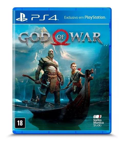 God Of War (mídia Física) + Lacrado + Envio Imediato.