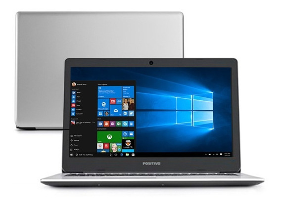 Notebook 15,6 Core I3 Ultra Slim 4gb Ssd128gb Win10+brinde