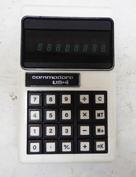 Calculadora Antiga Commodore Us*4 Made In Japan