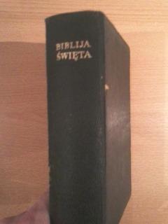 Santa Biblia En Idioma Polaco, Año 1949, Excelente!