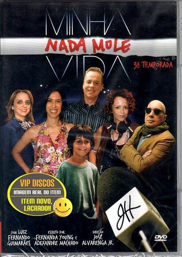 Dvd Minha Nada Mole Vida 3ª Temporada Original Novo Lacrado