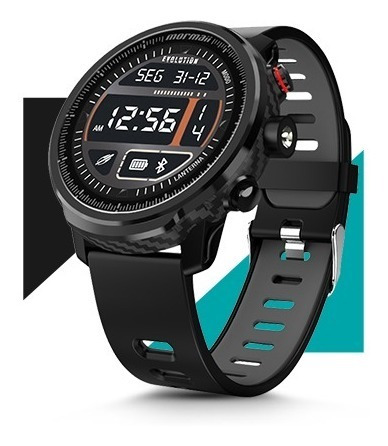 Relógio Smartwatch Mormaii Evolution Preto + Brinde