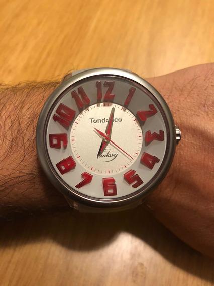 Reloj Tendence Gulliver Fantasy Rojo C/gris Edición Limitada