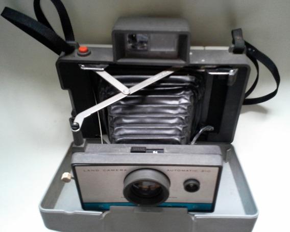Câmera Fotográfica Polaroid 210 Antiga