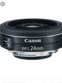 Lente Objetiva Canon Ef-s 24 Mm