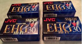 Fitas Jvc Vhs-c Tc-30 Ehgau Compact Cx C/10 Pc.orig R$119,99