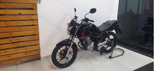 Imagem 1 de 7 de Honda Fan 160 Preta 2020 Tebi Motos