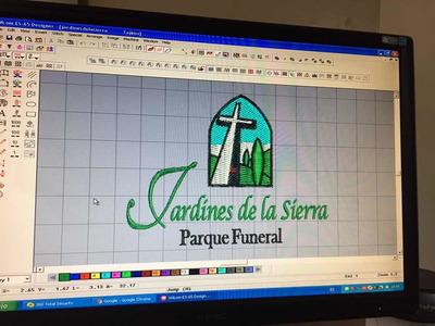 Digitalizo Diseños Para Bordar $80.00 Pesos Hasta 10,000 Ptd