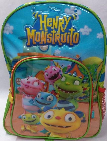 Mochila Espalda 15 Pulgadas Henry Monstruito Wabro 60164