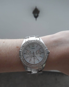 Relógio Guess Feminino Prata