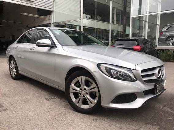 Mercedes-benz Clase C 2016 4p C 200 Exclusive L4/1.8/t Aut
