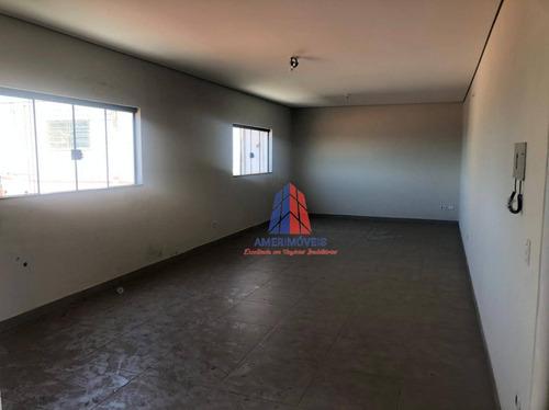 Imagem 1 de 6 de Sala Para Alugar, 40 M² Por R$ 1.100,00/mês - Antônio Zanaga Ii - Americana/sp - Sa0127