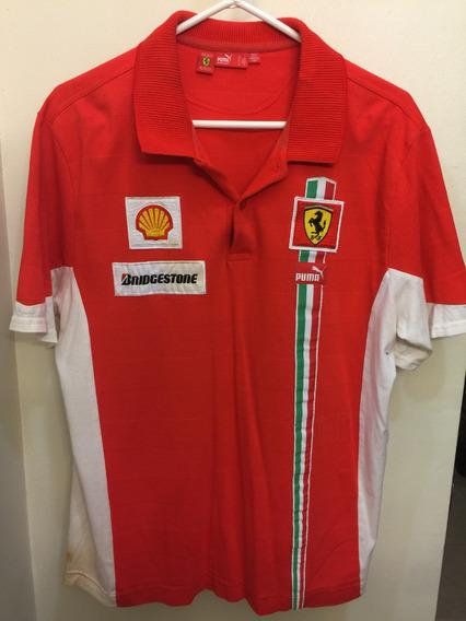 Remato Polo Escudería Ferrari De Coleccion