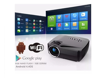 Proyector Android 4.4 Tv Box Tv Full Hd Wifi