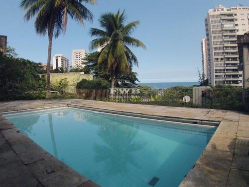 Casa Em São Conrado Com Vista Mar E Montanha - 2042006518 - 32854728