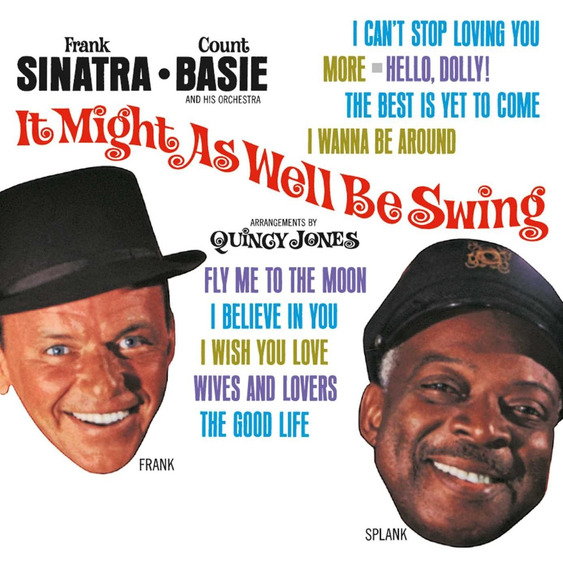 Cd : Frank Sinatra - It Might As Well Be Swing (cd)