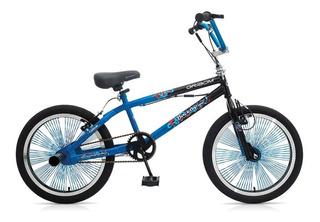 Bicicleta Gribom Rodado 20 Backflip Freestyle Mil Rayos 381
