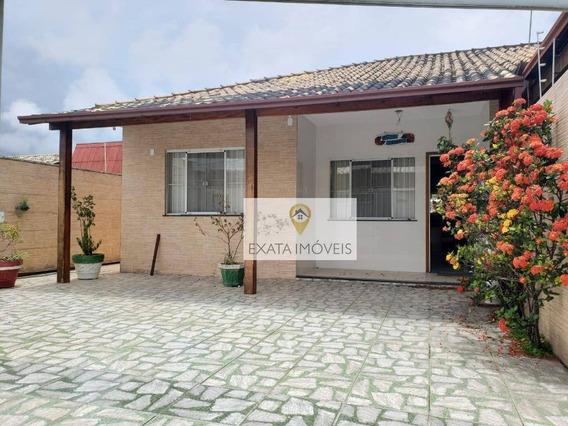 Casa Linear Com Amplo Quintal, Segunda Quadra Da Rodovia/ Enseada Das Gaivotas! - Ca1169