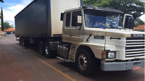 Caminhão Scania T 142 Hw 6x2 - Ano 1990 - Img