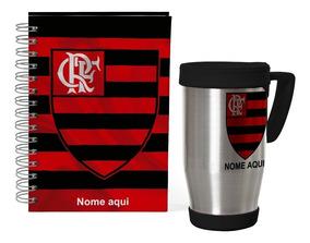 Kit Agenda Personalizada Permanente Flamengo