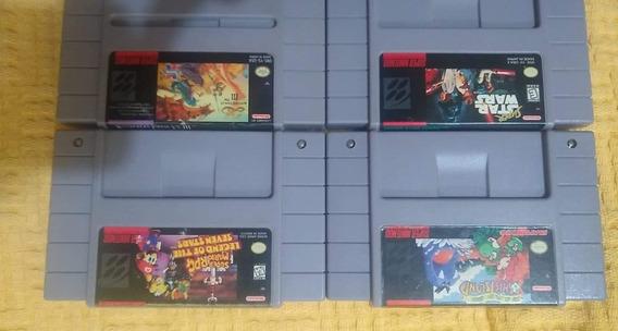 Jogos Originais Super Nintendo*leia A Descrição*