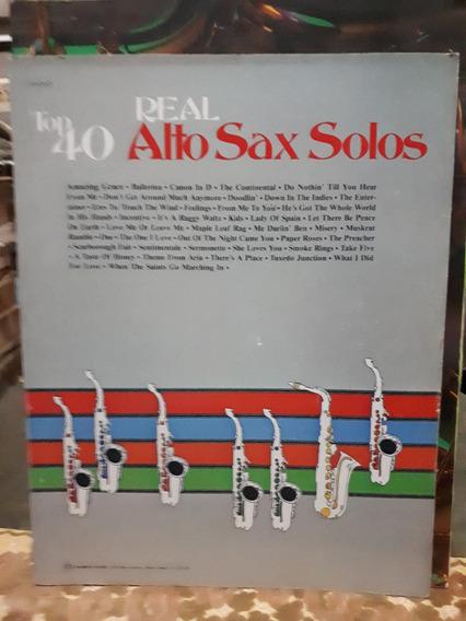 Top 40 Real Alto Sax Solos By John Edmondson Raro Antigo