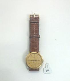 Relógio Omega Com Caixa Em Ouro 18k, Nunca Usado.