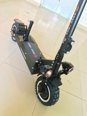 Electric Scooter 3600w/60v Two Wheel 11 Inch Folding Off Roa