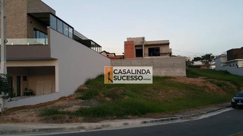 Terreno À Venda, 387 M² Por R$ 260.000 - Jardim Reserva Bom Vive - Indaiatuba/sp - Te0476