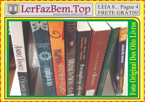 Coleção Fantasia Super Oito Livros Semi Novos + Frete Grátis