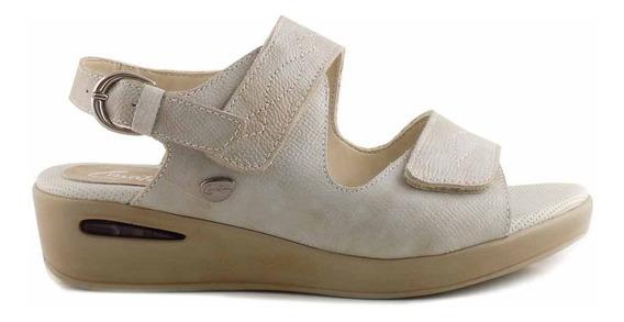 Sandalia Cuero Mujer Cavatini Zapato Confort - Mcsd04577