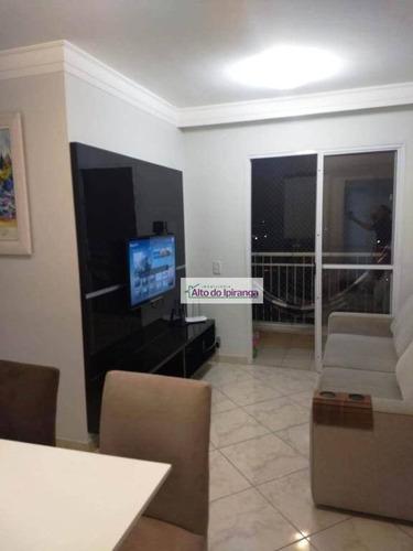Apartamento Com 2 Dormitórios À Venda, 49 M²- Vila Prudente (zona Leste) - São Paulo/sp - Ap4179