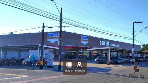 Imagem 1 de 9 de Lj2068 - Aluga Loja Em Anexo Ao Supermercado Cometa Da Messejana - Lo0094