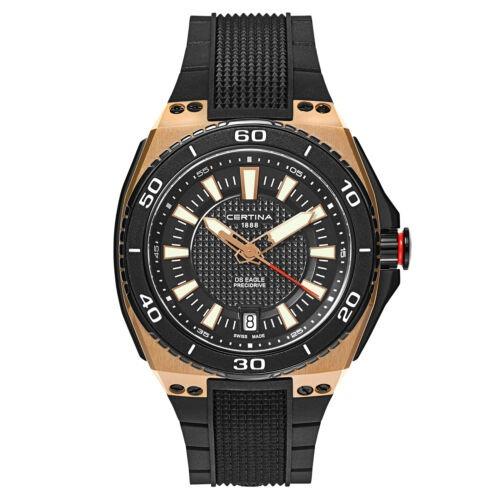 Reloj De Cuarzo Certina Para Hombre C023-710-37-051-00