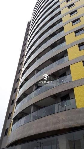 Apartamento Com 3 Dormitórios À Venda, 90 M² Por R$ 742.000,00 - Vila Assunção - Santo André/sp - Ap16588
