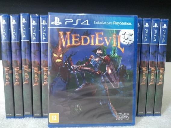 Medievil Ps4 Playstation 4 Física Pronta Entrega Português
