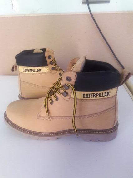Borcego Caterpillar Cuero Talle 43 Hombre Nuevas!!!