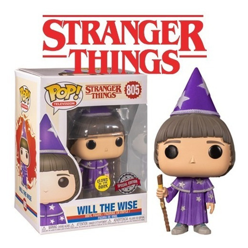 Funko Pop Will The Wise 805 Stranger Things