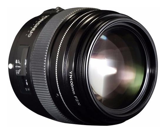 Lente Yongnuo 100mm F/2 - Nikon Garantia Novo