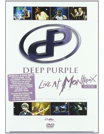 Deep Purple Live At Montreux 2006 2 Dvd Nuevo Ian Gillan