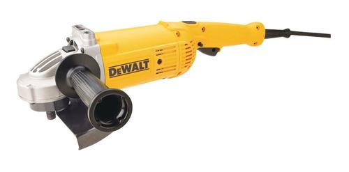 Amoladora angular DeWalt DWE496  de 50Hz amarilla 220V