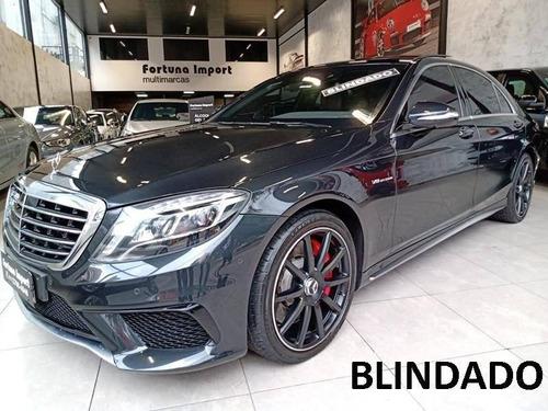 Mercedes-benz S 63 Amg 5.5 L V8 Bi-turbo Gasolina 4p