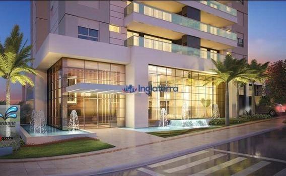 Apartamento Com 3 Dormitórios Para Alugar, 122 M² Por R$ 3.000,00/mês - Gleba Palhano - Londrina/pr - Ap0532