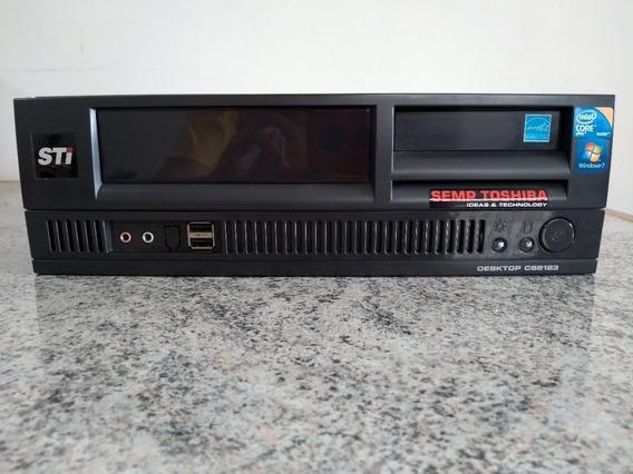 Cpu Desktop Core I5 650 + 4gb + Hd 320gb Teclado Mouse Wifi