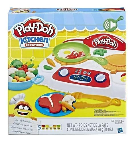 Imagen 1 de 9 de Play-doh Masa Kitchen Creations - Sarten Hasbro