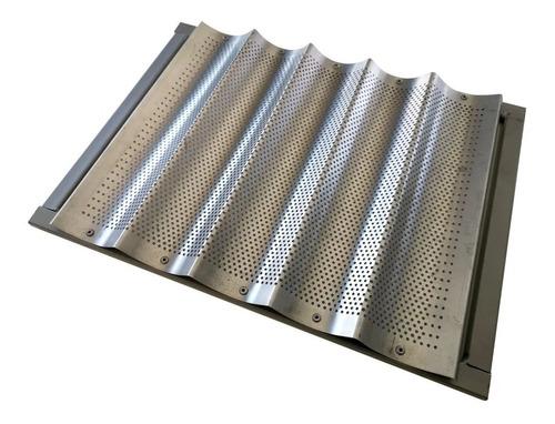 Baguetera De Aluminio 44x32 Cm Para Horno Pauna Beta 21