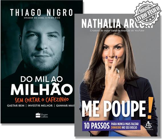 Kit Livros Do Mil Ao Milhão + Me Poupe! Rápido Envio