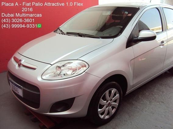 Fiat Palio Attractive 1.0 Flex - Completo - Placa A - 2016