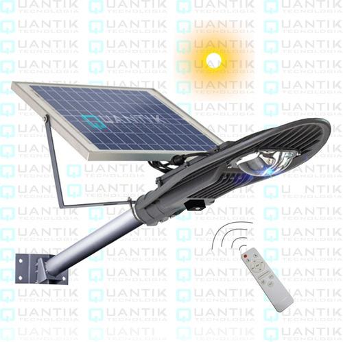 Kit Reflector Led 50watts+panel Solar+control Remot+temporiz