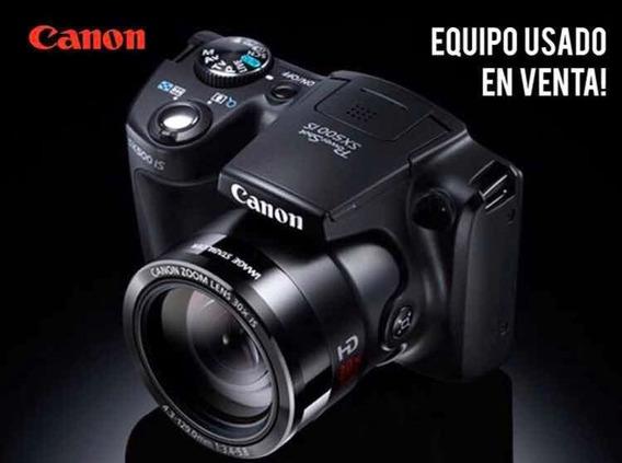 Cámara Canon Sx500 Perfecto Estado 140v